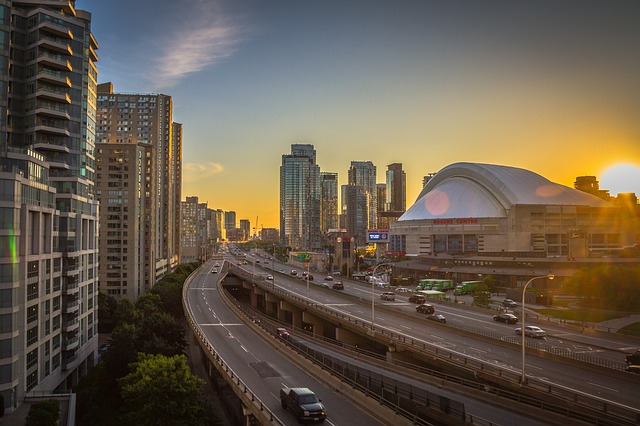 View of Rogers Centre, Toronto