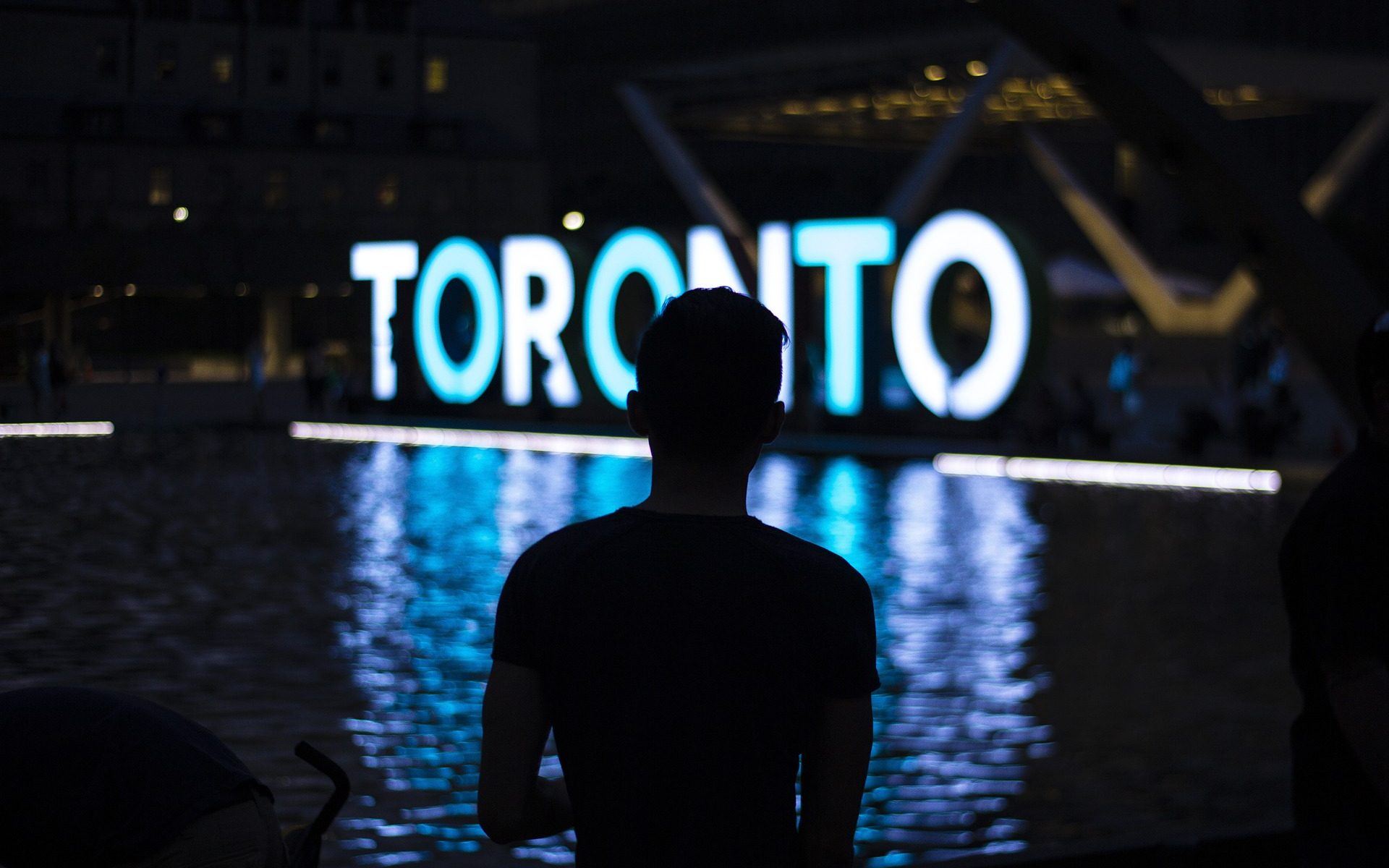 Image showing sign board of Toronto, Canada